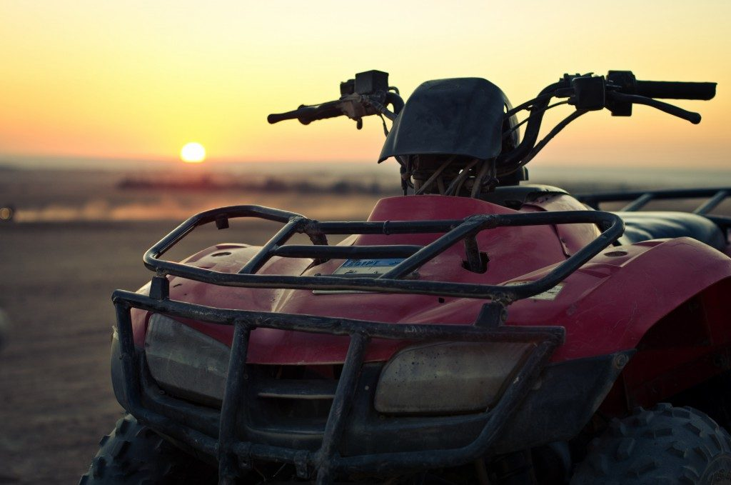 ATV at Sunset